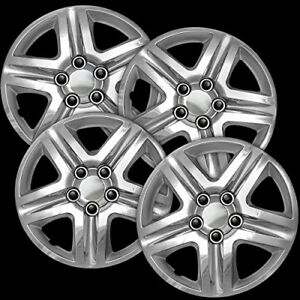 New Chrome Wheel Covers Hubcaps Fits 2006 2013 Chevrolet Impala 16 Set Of 4
