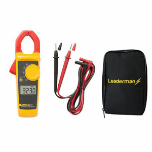 Fluke 323 Digital Clamp Meter True Rms With Test Leads Protective Case Ldmc33