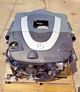2007 Mercedes Benz S550 Drop Out V8 Complete Engine Assembly Oem A2731400701