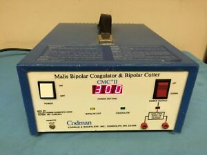 Colman Cmc Ii Malis Bipolar Coagulator Cutter powered On