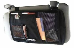 Go Gear Visor Organizer Pocket Holder Console Interior Car Truck Rugged Nymax