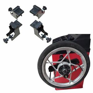 Set Of Motorcycle Adapters For Tire Changer And Wheel Balancer Both For Xk