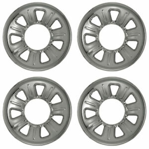 New Wheel Covers Hubcaps 15 Chrome Plated Fits 2000 2011 Ford Ranger Set Of 4