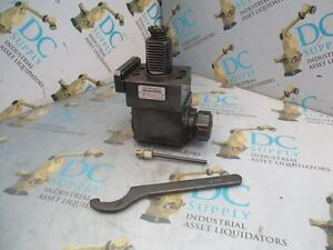 Cincinnati Milacron 65007238 48 4000 Rpm 1 1 Lathe Tool Holding Assembly New