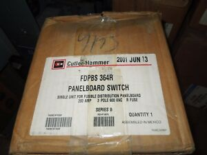Eaton cutler Hammer Fdpbs364r 200a 3p 600v Fused Panelboard Switch New Surplus