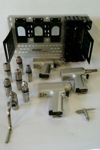 Stryker System 5 Power Drill Set 4206 Recip 4203 Rotary 4208 Sagittal Orthopedic