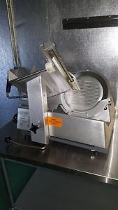 12 Blade Commercial Meat Slicer Electric Deli Slicer Veggies Cutter Kitchen