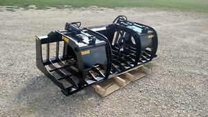 91 Skid Steer Rock Grapple Heavy Duty 1 2 Steel High Quality Free Shipping