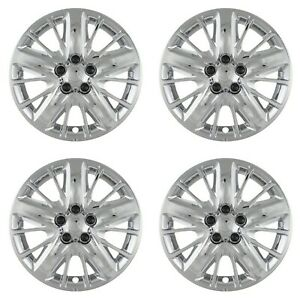 New Wheel Covers Hubcaps Fits 2014 2018 Chevrolet Impala 18 Chrome Set Of 4