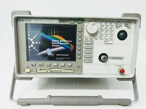 Hp 86143a Portable Standard Optical Spectrum Analyzer