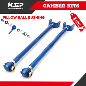 Adjustable Rear Lower Camber Control Arm Bmw 3 series E36 E46 M3 Z3 Z4 Blue