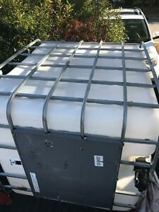 250 Gallon Water Tank With Mounting Plate