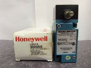 New Honeywell Lsn1a Heavy Duty Micro Limit Switch 10 Amps 600 Vac Nib