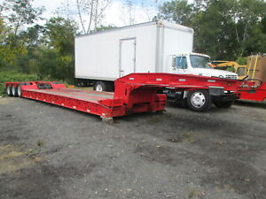 Eager Beaver 50 gsl Detachable Trailer W 24 Well 100k Cap 11 8 x 12 w Max Load