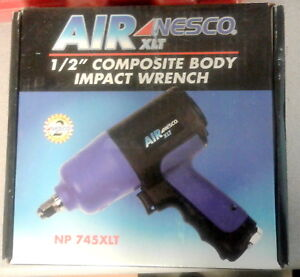 New Nesco Np 745xlt Air 1 2 Composite Body Impact Wrench
