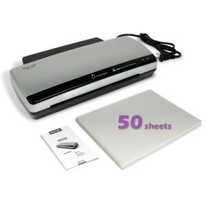 Nuova Lm990hc Hot Cold Laminator Bundle With 50 sheet Letter Size 3mil Pouches