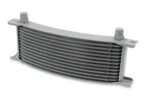 Earls 71608erl Earls Temp A Cure Oil Cooler Grey 16 Rows Narrow Curved
