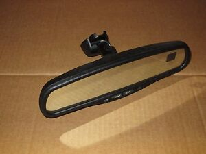 2000 Chevy Silverado Truck Rear View Mirror Oem Factory Compass Temp
