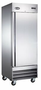 Saba Commercial Upright Freezer Stainless Steel Freezer Storage 1 Solid Door