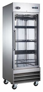 Saba Commercial Upright Freezer Freezer Storage Display Case 1 Glass Door