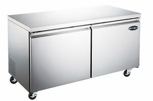 Saba 60 Commercial Undercounter Refrigerator Stainless Steel Food Storage
