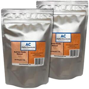 2 Lb Red Iron Oxide Fe2o3 Natural Source