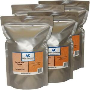 20 Lb Red Iron Oxide Fe2o3 Natural Source