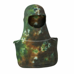 Green Camo Tie Dyed Pac Ii Majestic Firefighter Nomex Blend Flash Hood