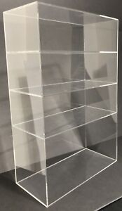 Acrylic Cabinet Counter Top Display Showcase Box 12 x6 x19 Display Box Acrylic