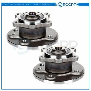 2 Rear Wheel And Hub Bearing Assembly Fits 2002 2003 2004 2005 2006 Mini Cooper