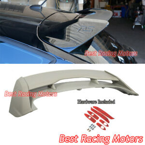 Rs Style Roof Spoiler Wing Abs Fits 12 18 Ford Focus 5dr Hatch