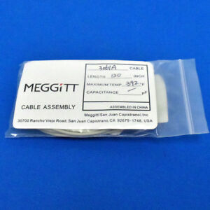 Meggitt Endevco 3061a Cable Assembly 120 392 f For Accelerometer Vibration Test