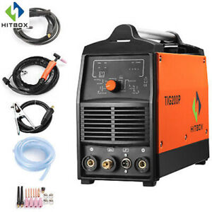 Tig Welder 200a With Pulse Dc Hf 220v Mma Welding Machine 3 In 1 Inverter Weld