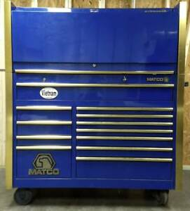 Matco Tool Chest Side Cabinet