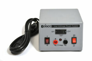 Low Voltage Power Supply Ac dc Switchable 6v Or 12v At 2 Amp Output