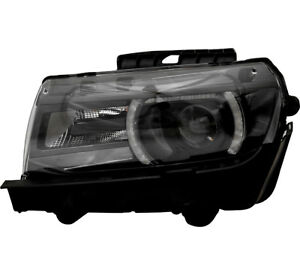 Hid Headlight Assembly W bulb New Left Driver Side For 14 15 Chevy Camaro Lt ss