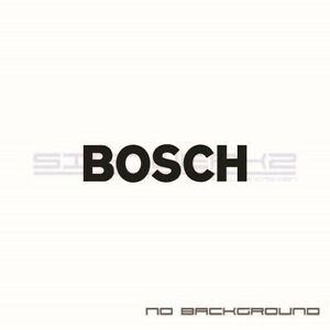 Bosch Decals Stickers Racing Toyota Audi Subaru Honda Ford Pair