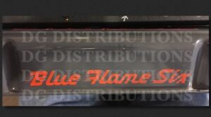 1949 1952 Chevy Blue Flame Six Valve Cover Decal Fleetline Bel Air 210 Coupe