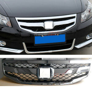 Grille For Honda Accord 2011 2012 Abs Sport Model Front Bumper Grill