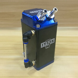 Itsok Engine Oil Reservoir Catch Can Tank Kit Blue For Ford F 150