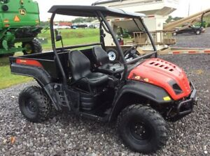 2012 Cub Cadet Volunteer Atv s Gators
