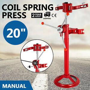 20 Hand Operate Strut Coil Spring Press Compressor Auto Tool Compress Shock