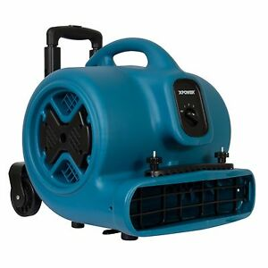 Xpower P 630hc Air Mover Blower Fan Dryer W Telescopic Handle Carpet Clamp