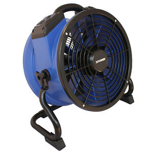 Xpower X 35ar 1 4 Hp 1720cfm High Temp Sealed Motor Axial Fan Air Mover W Outlet