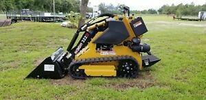 Morbark Boxer 322d Mini Skid Steer Loader Kubota Diesel W Bucket In Stock