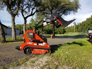 In Stock Now Morbark Boxer 600hd Mini Skid Steer Loader Tracks Kubota Diesel