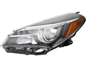 Halogen Headlight Assembly w led Drl Left Drive Side For 15 17 Toyota Yaris Se