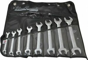 Blackhawk By Proto 8 Piece 6 X 7 To 20 X 22mm Open End Wrench Set Metric M
