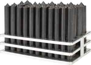 Value Collection 33 Piece Transfer Punch Set 1 2 To 1 Round Shank