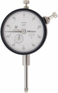 Mitutoyo 1 Inch Range 0 100 Dial Reading 0 001 Inch Graduation Dial Drop In